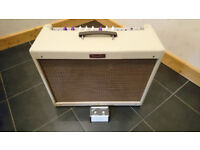 Limited edition, Fromel modified, Fender Blues Deluxe Reissue in Blonde Tolex.