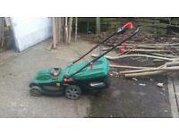 Qualcast 1500 watt mower and Strimmer Set