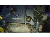 Ford transit connect engine and gearbox