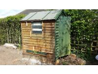 6ft x 4ft used garden shed in good condition