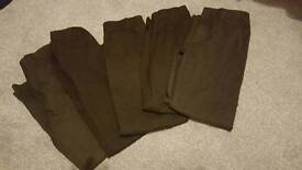 SOLD 6-7 years and 7-8 years boys school trousers
