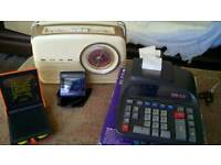 Original Bush Radio with 203 Luxemburg button
