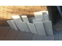 Crema Marfil Tiles - leftover