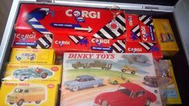 Dinky and Corgi Cars