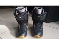 Snowboard Boots Thirty Two 32 Prospect Mens Size UK 9