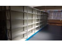 6 Tier Steel Heavy Duty Metal Industrial Warehouse Racking Shelving Unit Storage!!