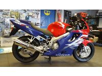 HONDA CBR600 FX 1999 RED/BLUE EXTREMELY CLEAN ** may part exchange **