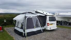 Movelite Pro Carbon Midi Driveaway Awning with Annexe