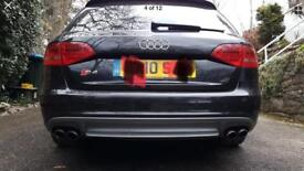 Audi s4 Q7 rear bumper diffuser stainless steel 174251 (it) autotest