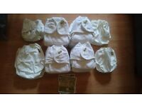 One life reusable nappy set cloth nappies