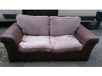 2 seater and 3 seater sofabeds
