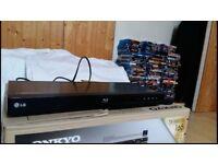 LG multiregion blu ray player for sale - plays region A,B,C, also plays multiregion DVD's