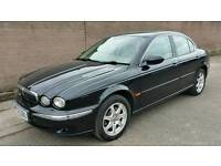 Jaguar X-Type. April 2018 Mot. Lovely in black.  Vectra mazda 6 civic mondeo