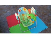 Fisher Price Take Along Forest Swing