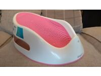 Baby Bath Support / anti-slip / soft touch / by Angelcare * Excellent condition *