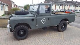 Land rover 109 ex military 33000miles