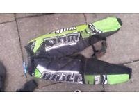 Green wolfsport mx pants +FREE goggles £10