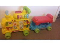 Vtech push and ride alphabet train walker