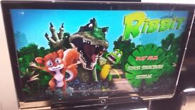 """SAMSUNG 46"""" Full HD 1080p Freeview LCD TV £150"""