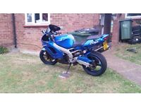 KAWASAKI ZX9R with mot till may 2017