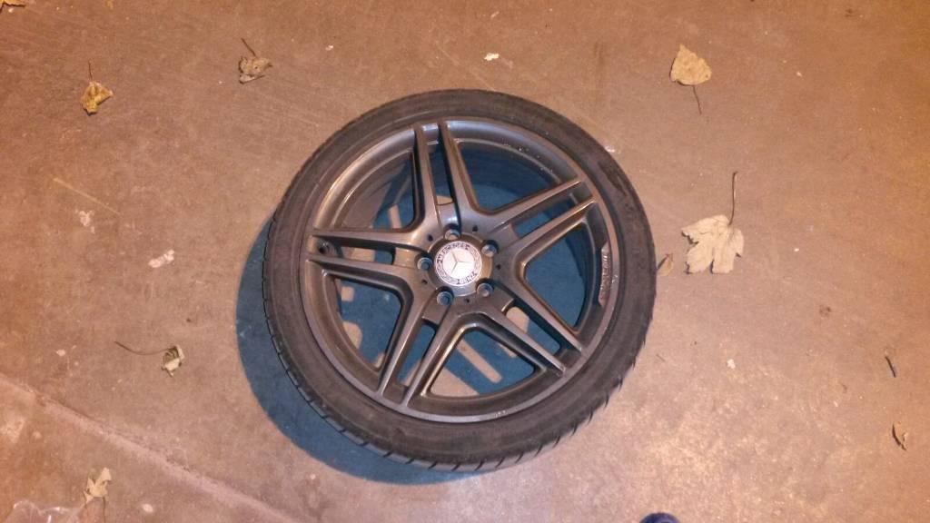 """18"""" Amg Merc alloy wheels"""