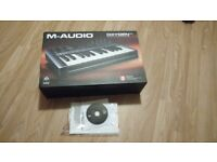 M-Audio Oxygen 25 Midi Keyboard - Boxed and with Cable