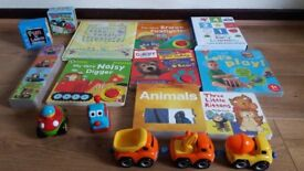 Toddler books and toys