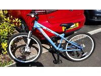 """Carrera Luna 24"""" wheel Junior Mountain Bike"""