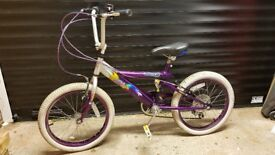 18 inch girls bicycle