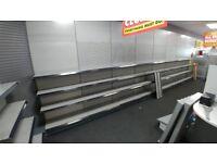 Shop Floor Shelving Display Metalwork (£6,000 O.B.O.)