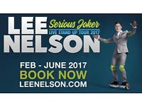 FRONT ROW Lee Nelson Tickets Bromley 7/5/17