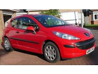 Peugeot 207 1.4 Urban 2006 (56) - Red, 40,700 miles, Immaculate Condition, Just Serviced