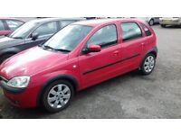 Vauxhall Corsa SXI 16V, 2003