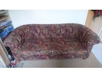 Chesterfield Sofa bed in good condition