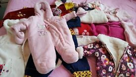 Bundle of clothes for girl 3-12month