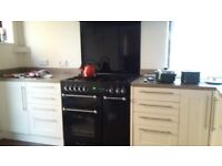 Rangemaster Duel Fuel cooker and hood for sale