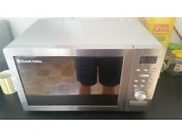 Russel hobbs combi microwave with grill