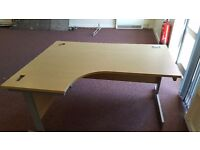 Large office table for sale.