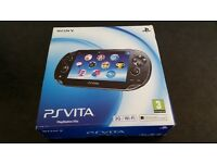 Ps vita 3g plus wifi and 5 games