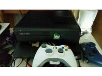 Xbox 360 slim, live and 24 games