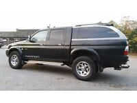 L200 double cab canopy