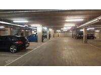 Secure underground car parking / parking space (E14 7FX)