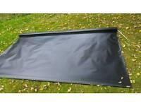 Waterproof outside blind/awning