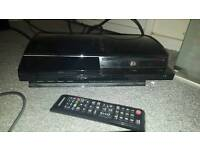 Playstation 3 with controller leads box