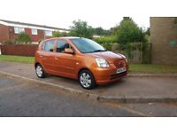 2005 KIA PICANTO,excellent condition inside and outside,5 DOOR, £499