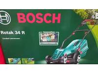 Bosch lawnmower 34R Brand new boxed unopened