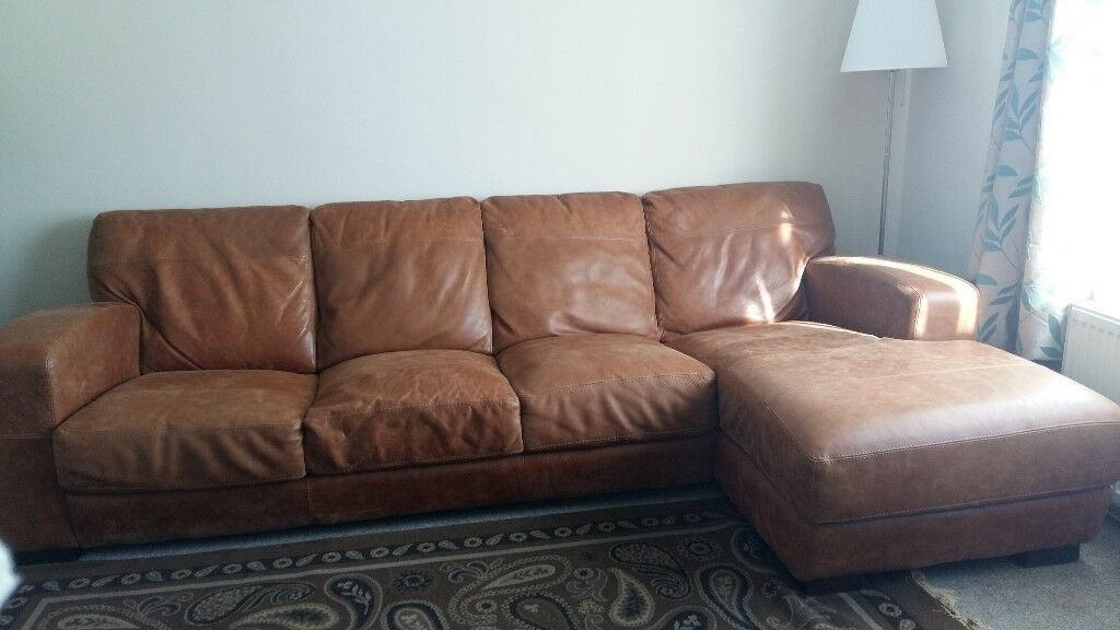 Dfs Caesar Large 4 Seat Chaise End Sofa
