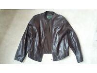 Man's 'HidePark' Leather Jacket