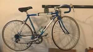 White and Blue Norco Road Bike