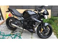 Triumph street triple 675 fully loaded